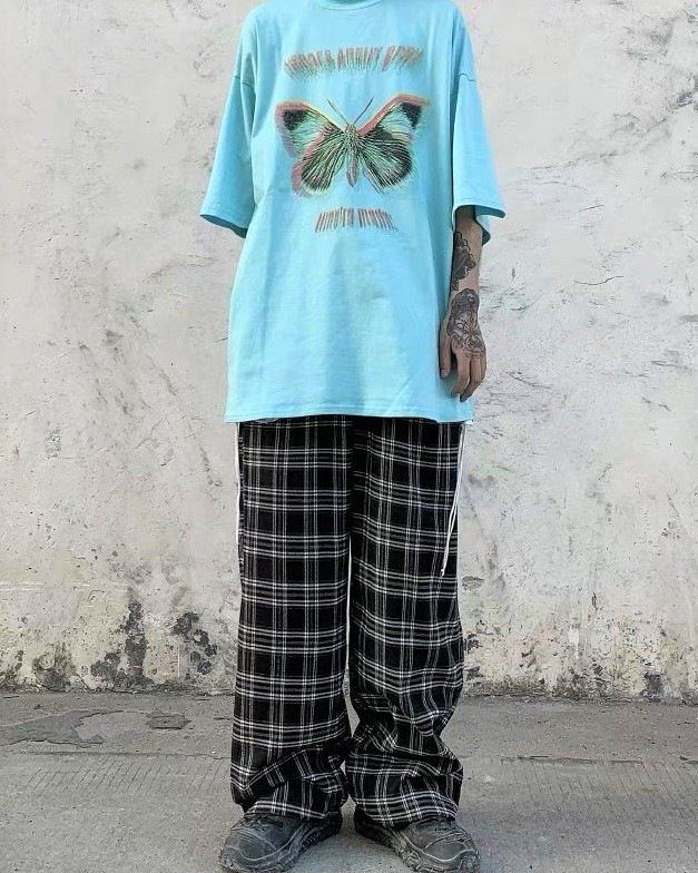 《2色》バタフライモーションブラーTシャツの画像6